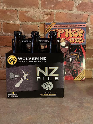 Wolverine NZ Pils 6 Pack