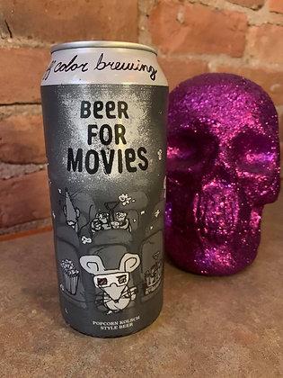 Off Color Beer For Movies Popcorn Kolsch 16oz
