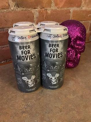 Off Color Beer For Movies Popcorn Kolsch 16oz 4 Pack