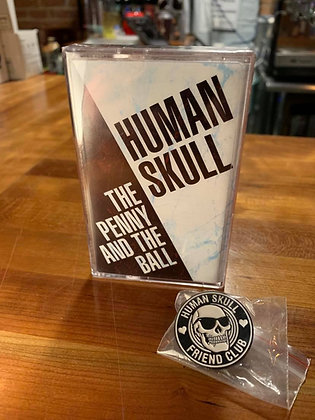 Human Skull Cassette And Pin Pack