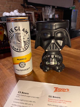 White Claw Mango can