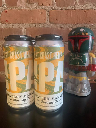 Eastern Market West Coast Hemp IPA 16oz 4 Pack