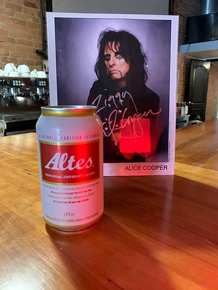 Altes Detroit Lager can