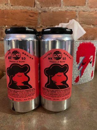 Mikkeller Illusion Of Sorts Berliner Weisse 16oz 4 Pack