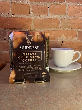 Guinness Nitro Cold Brew Coffee 14.9oz 4 Pack