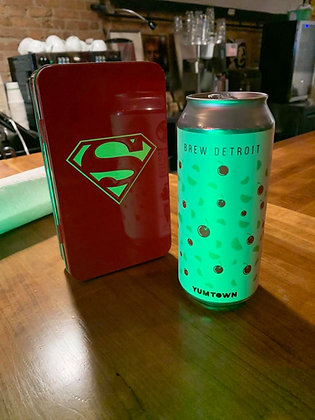 Brew Detroit Yumtown Lager 16oz can
