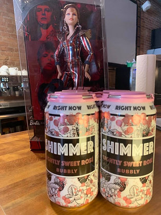 Right Now Wines Shimmer cans 4 pack