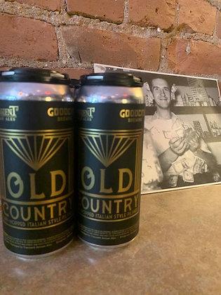 Transient Old Country Pilsner 16oz 4 Pack