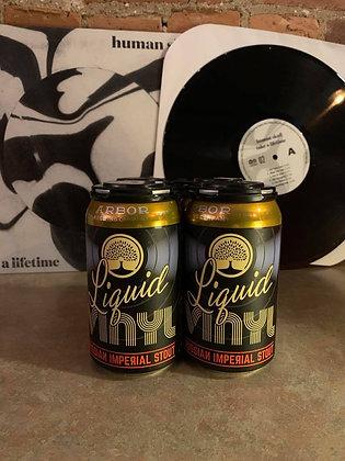 Arbor Brewing Liquid Vinyl Russian Imperial Stout 4 Pack