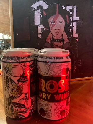 Right Now Wines Rose cans 4 pack BLOWOUT SALE