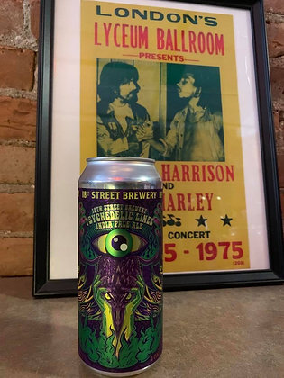 18th Street Brewery Psychedelic Lines IPA 16oz