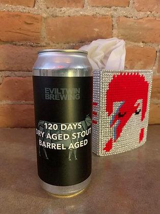 Evil Twin 120 Days Dry Aged Stout BA Aged 16oz