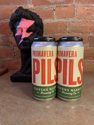 Eastern Market Primavera Pilsner 16oz 4 Pack
