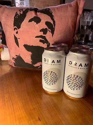 DRAM Cardamom & Black Tea Sparkling Water 4 pack
