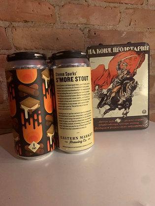 Eastern Market Steven Sparks' S'More Stout 16oz 4 Pack