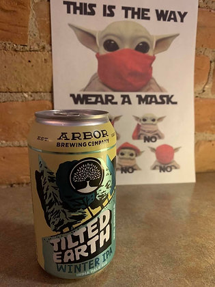 Arbor Brewing Tilted Earth Winter IPA