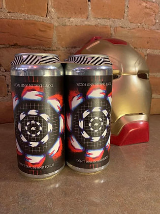 Aslin Don't Dial In And Focus American IPA 16oz 4 Pack