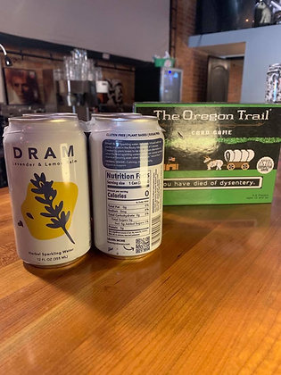 DRAM Lavender & Lemon Balm Sparkling Water 4 Pack