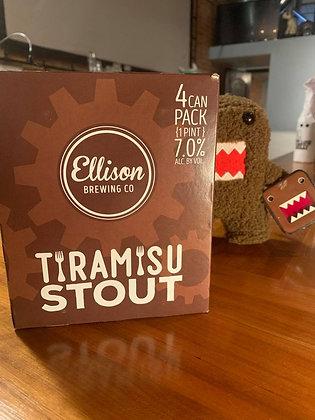 Ellison Tiramisu Coffee Stout 16oz Can 4 Pack