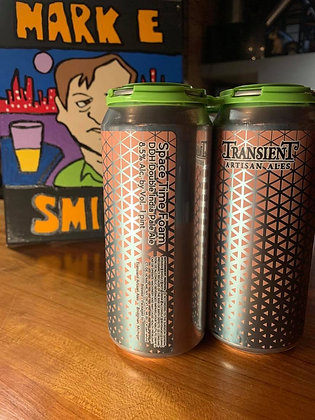 Transient Space Time Foam DIPA 16oz Can 4 Pack