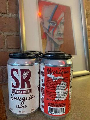 Sierra Rose Sangria Wine 12oz 4 Pack