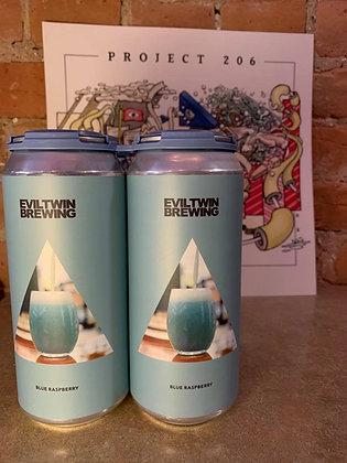 Evil Twin Blue Raspberry Sour IPA 16oz 4 Pack