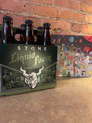 Stone Liquid Poem DIPA 6 Pack
