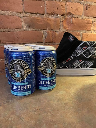 Woodchuck Blueberry Hard Cider 30th Anniv Release 6 Pack