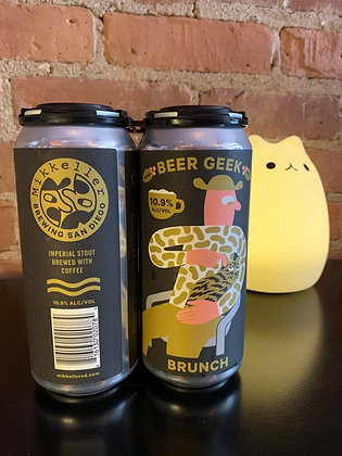 Mikkeller Beer Geek Brunch Stout 16oz 4 Pack