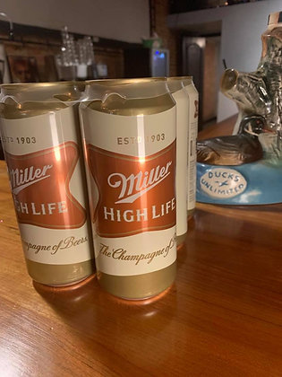 Miller High Life 16oz Can 6 Pack