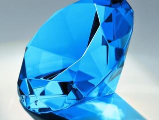 Woher kommen blaue Diamanten ?
