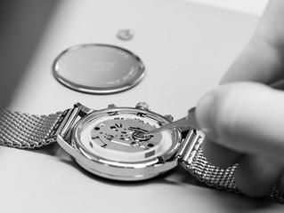 Uhrenservice - Uhrenpflege