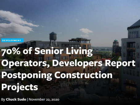 Senior Housing Development News