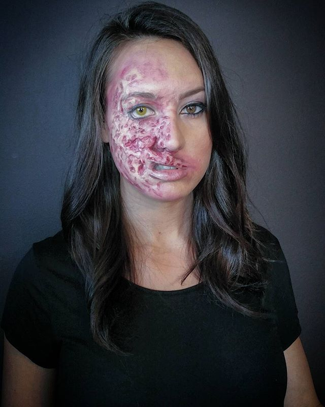 Two Face Special Effects Makeup