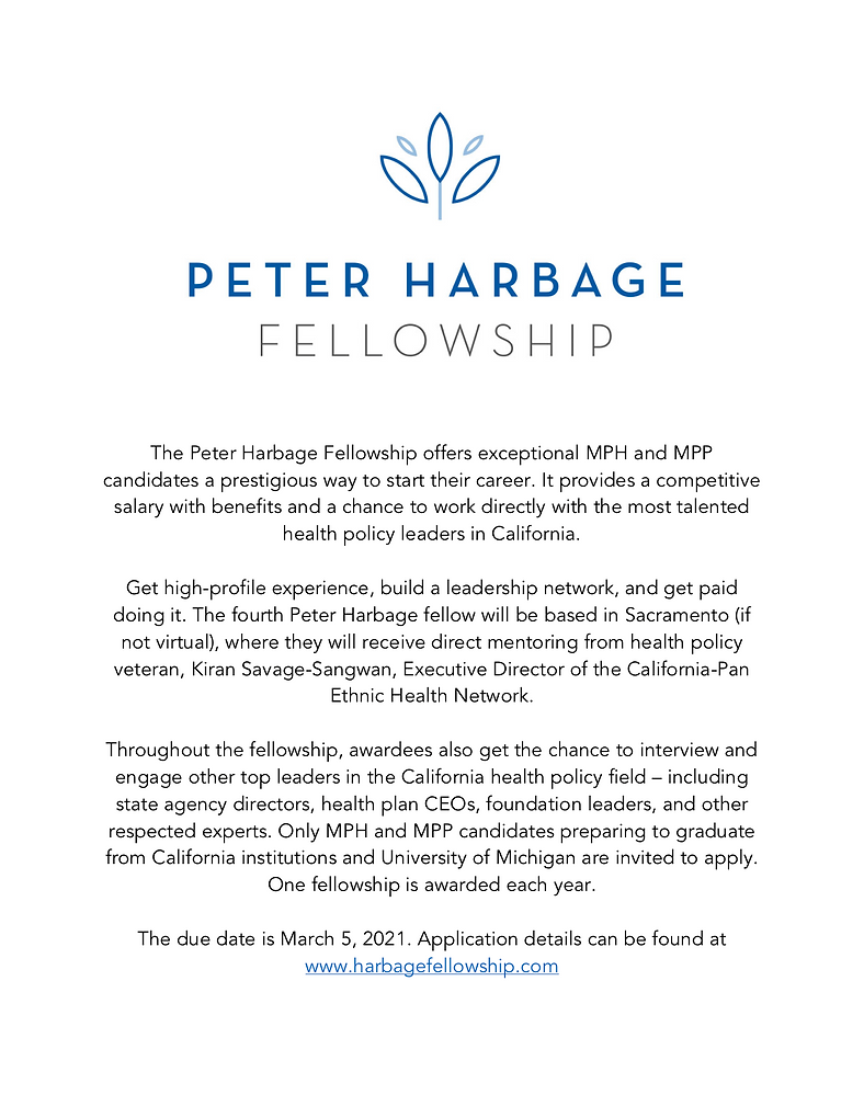 Peter Harbage Fellowship flyer 2021.png