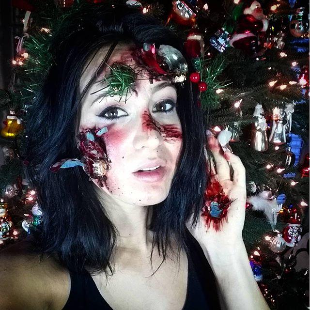 Christmas Tree Accident SFX Makeup