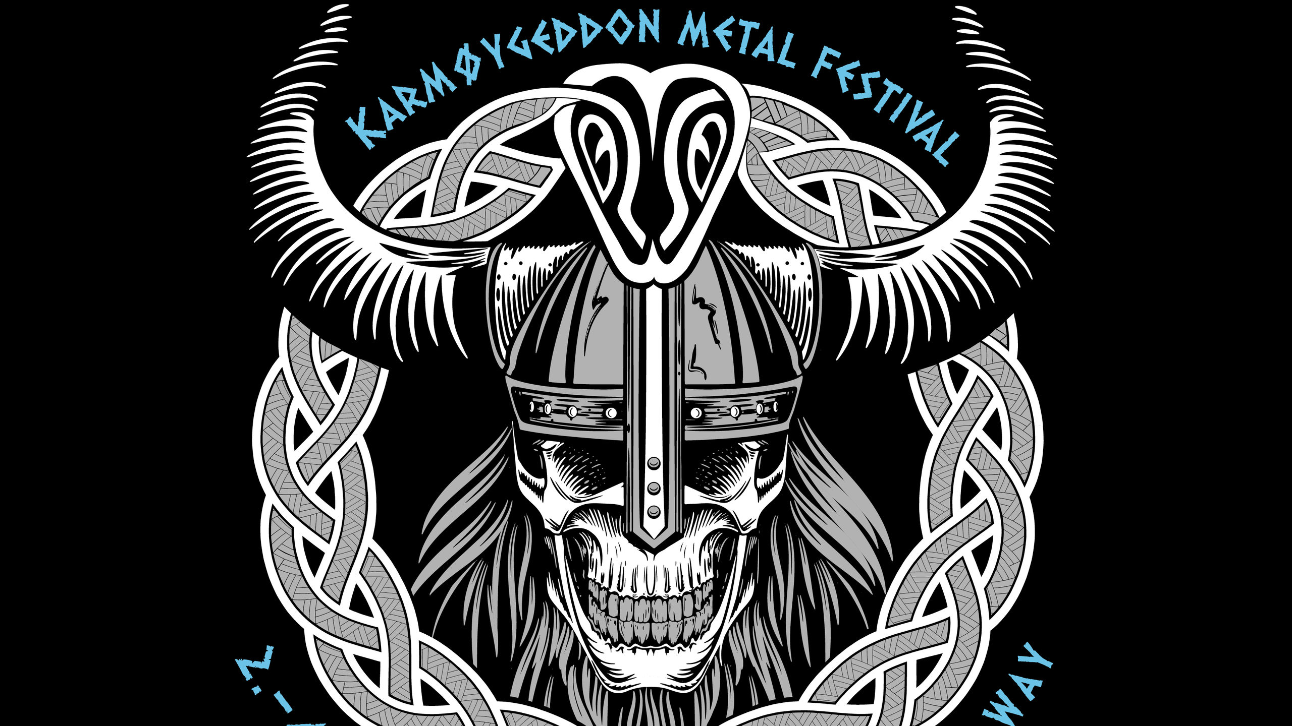2019 Karmøygeddon chest emblem