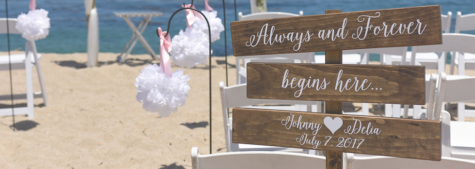 Carmel Weddings will make your dream wedding come true!