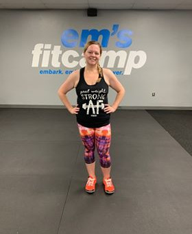 July 2019 Em's Fitcamp Member of the Month: Trista Williamson