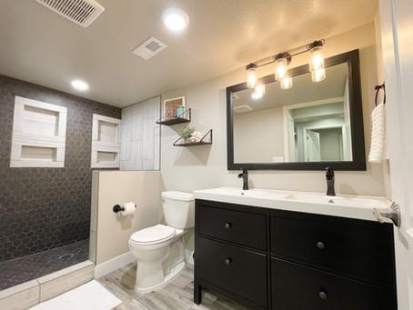 DIY Bathroom :: Basement Makeover | Episode 6