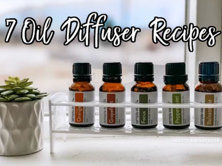Simple Essential Oil Recipes + Tips!!