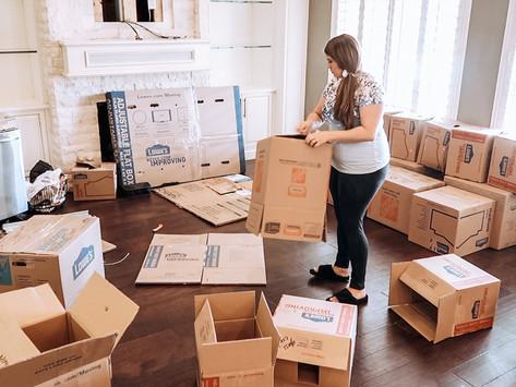 18 Tips for Moving In + Unpacking
