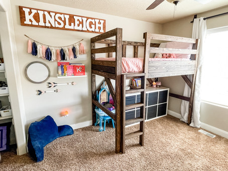 Rustic Makeover Series :: Shared Kids Bedroom