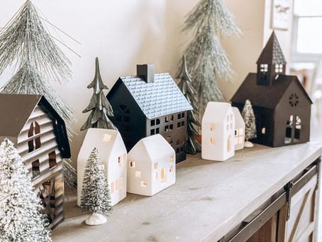 Winter Wonderland Christmas Decorating 2020!