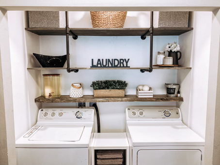 Laundry Room Makeover | Farmhouse Makeover Series :: Episode 2
