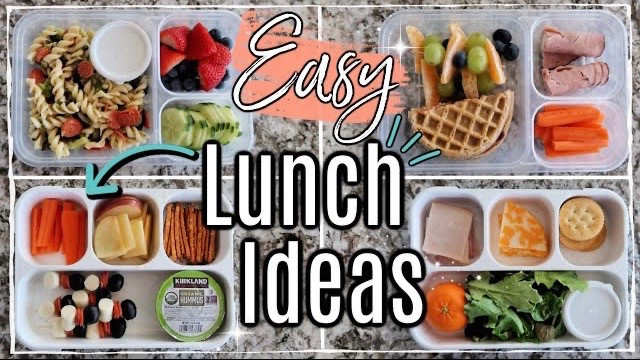 Back to School :: Kids Lunch Ideas + Tips!