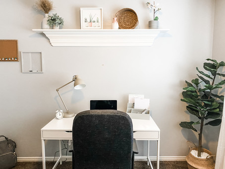 Small Home Office Transformation!