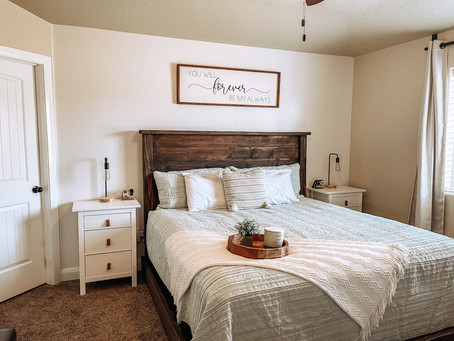 Rustic Makeover Series :: Master Bedroom