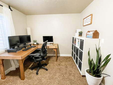 Rustic Makeover Series :: Home Office / Craft Space