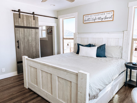 Master Bedroom Makeover | Farmhouse Makeover Series :: Episode 4